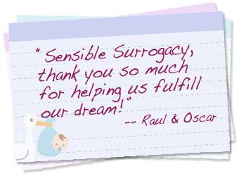 Surrogacy success rates card