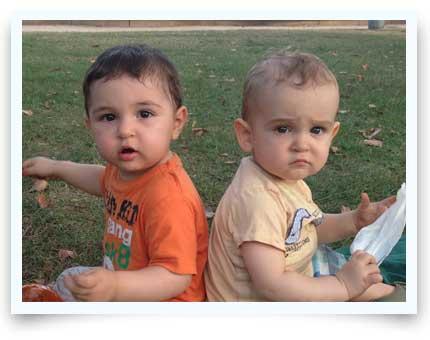 twins surrogacy babies